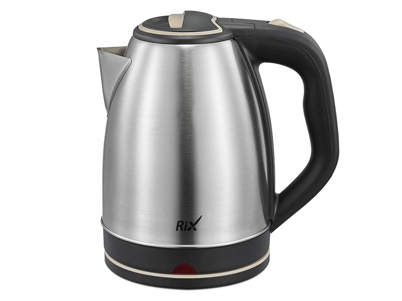 Чайник Rix RKT-1802S 1.8L Black-Beige