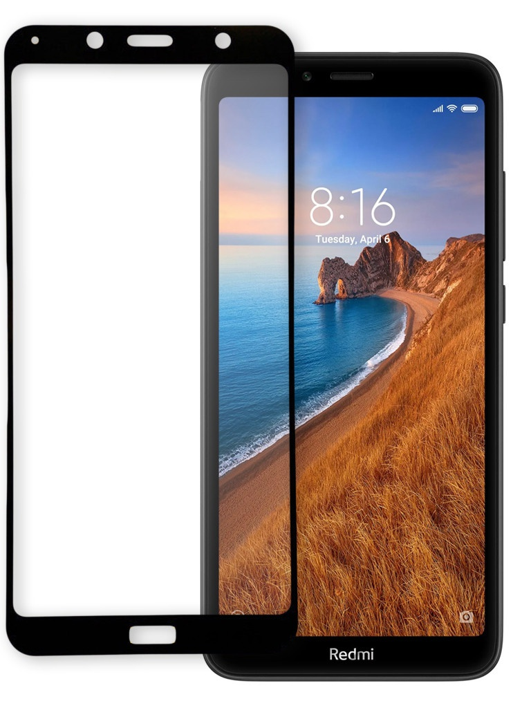 Фото - Защитное стекло Pero для Xiaomi Redmi 7A Full Screen Cover Full Glue Black PGFG-XR7A защитное стекло pero для huawei p smart 2019 full screen cover full glue black pgfg hps19