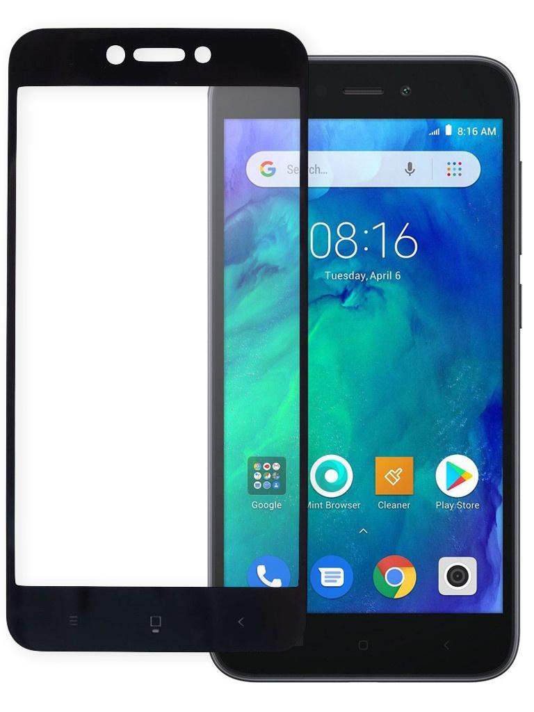 Защитное стекло Pero для Xiaomi Redmi Go Full Screen Cover Glue Black PGFG-XRGO