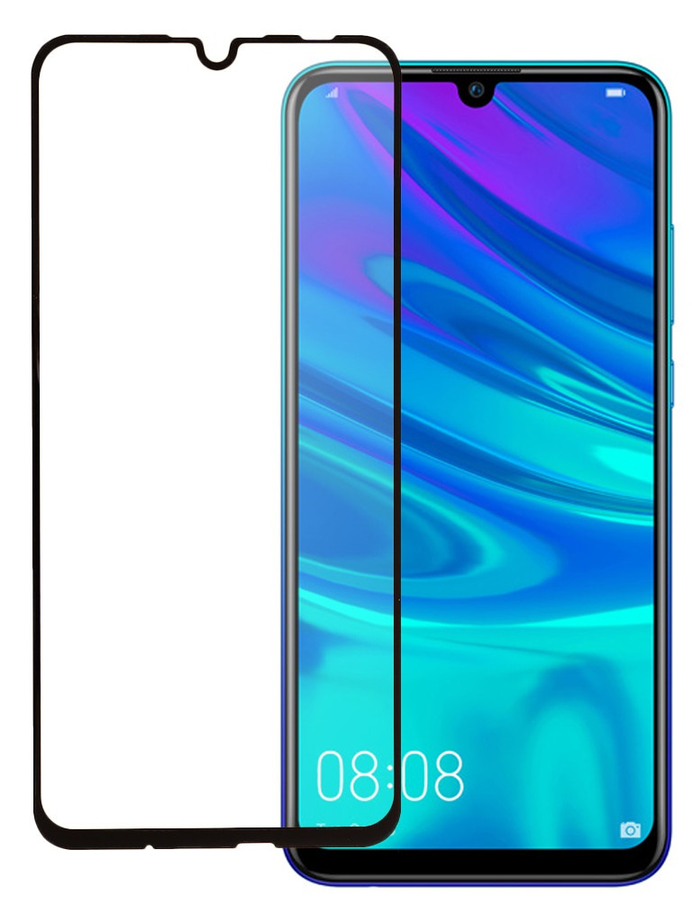 Фото - Защитное стекло Pero для Huawei P Smart 2019 Full Screen Cover Full Glue Black PGFG-HPS19 защитное стекло pero для huawei p smart 2019 full screen cover full glue black pgfg hps19