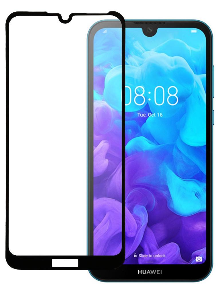 Защитное стекло Pero для Huawei Y5 2019 Full Screen Cover Glue Black PGFG-HY519
