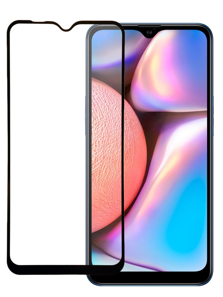 Защитное стекло Pero для Samsung Galaxy A10 Full Screen Cover Glue Black PGFG-A10