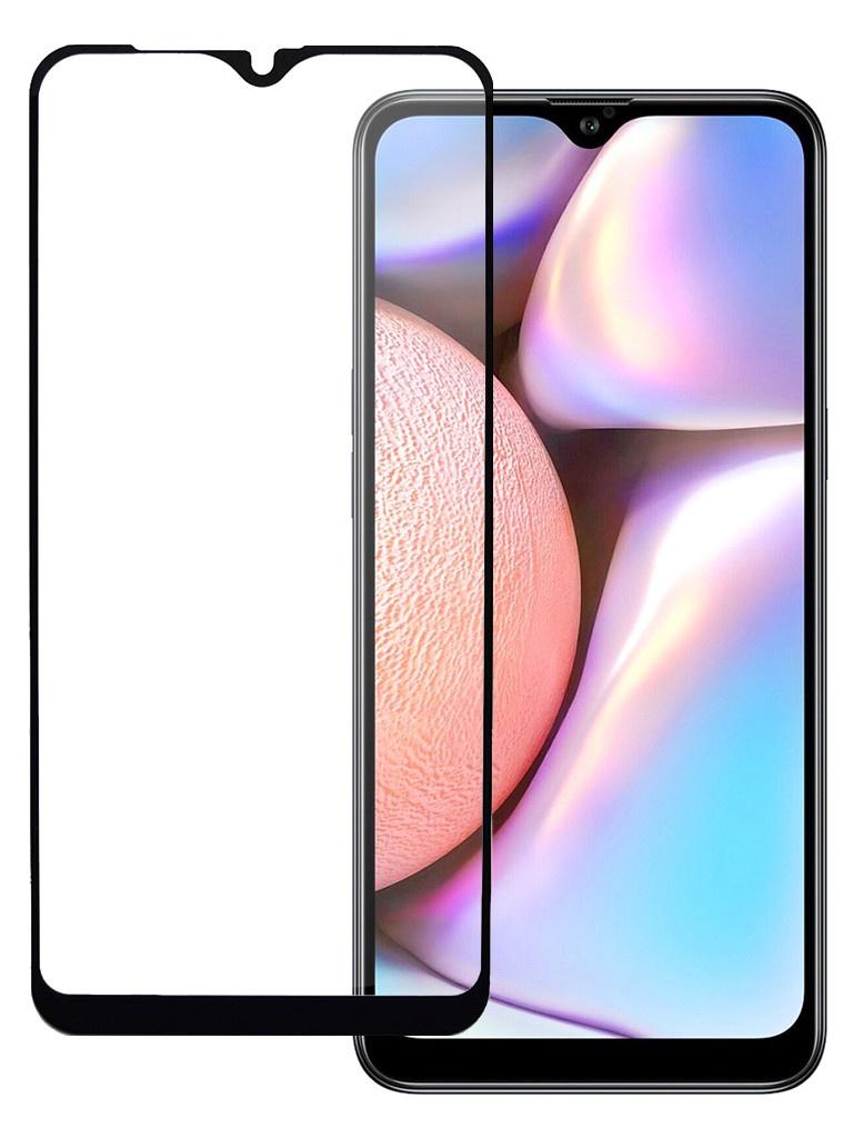 Защитное стекло Pero для Samsung Galaxy A10s Full Screen Cover Glue Black PGFG-A10S