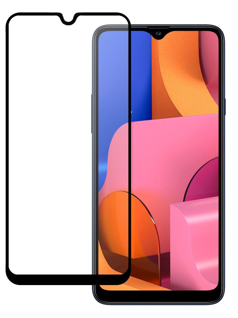 Защитное стекло Pero для Samsung Galaxy A20s Full Screen Cover Full Glue Black PGFG-A20S фото