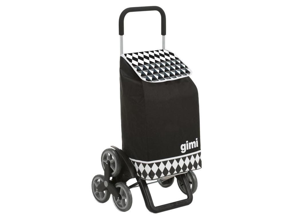 Сумка-тележка Gimi Tris Optical Black 154315/154623