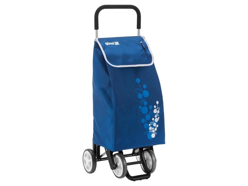 Сумка-тележка Gimi Twin Blue 154320/154628