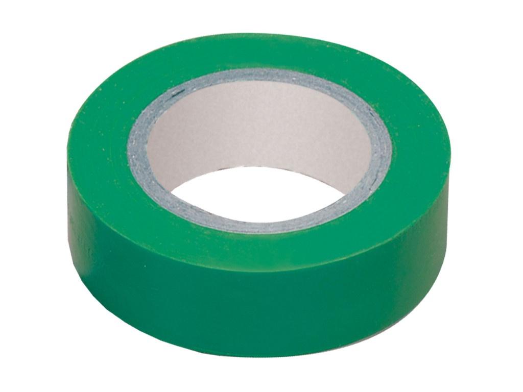 Изолента IEK 19mm х 20m Green UIZ-20-10-K06