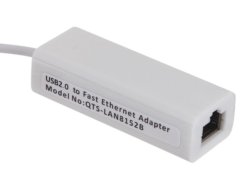 Сетевая карта Selenga USB 2.0-LAN RJ45 100Mb White