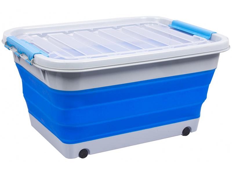 Корзина для игрушек Bradex 30L Blue TD 0637 светильник bradex лампочка light blue td 0420