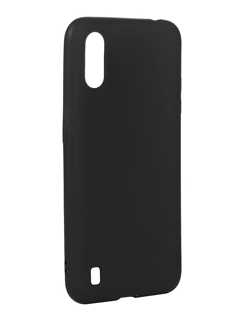 Чехол Svekla для Samsung A01 A015F Silicon Black SV-SGA015F-MBL