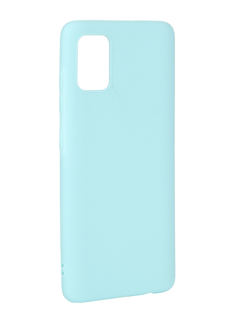 Чехол Svekla для Samsung A51 A515F Silicone Blue SV-SGA515F-MBLUE