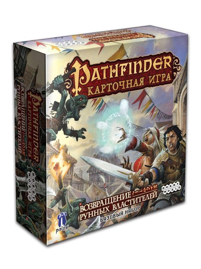 Настольная игра Hobby World Pathfinder Возвращение рунных властителей 1424