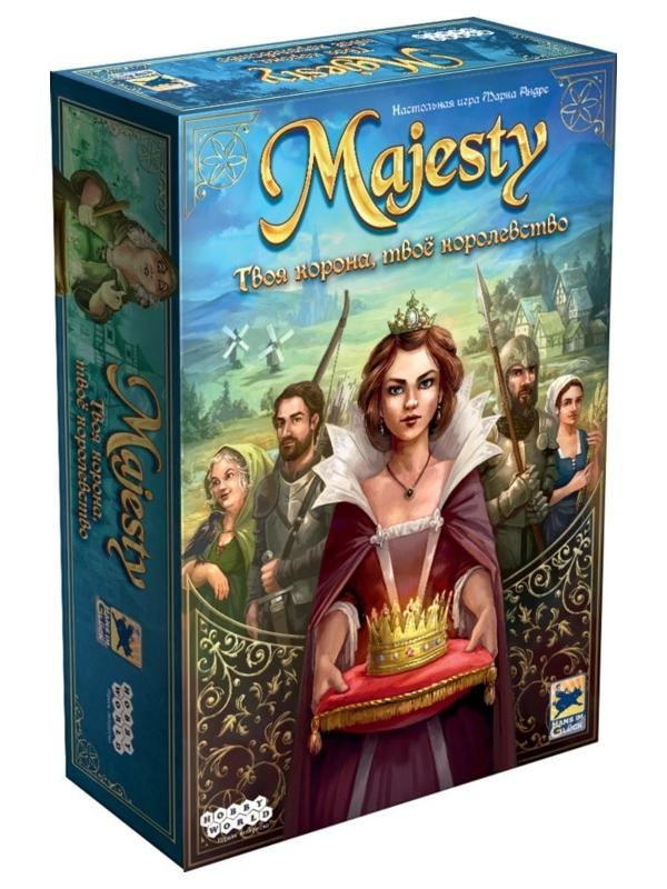 Настольная игра Hobby World Majesty Твоя корона, твоё королевство 915043