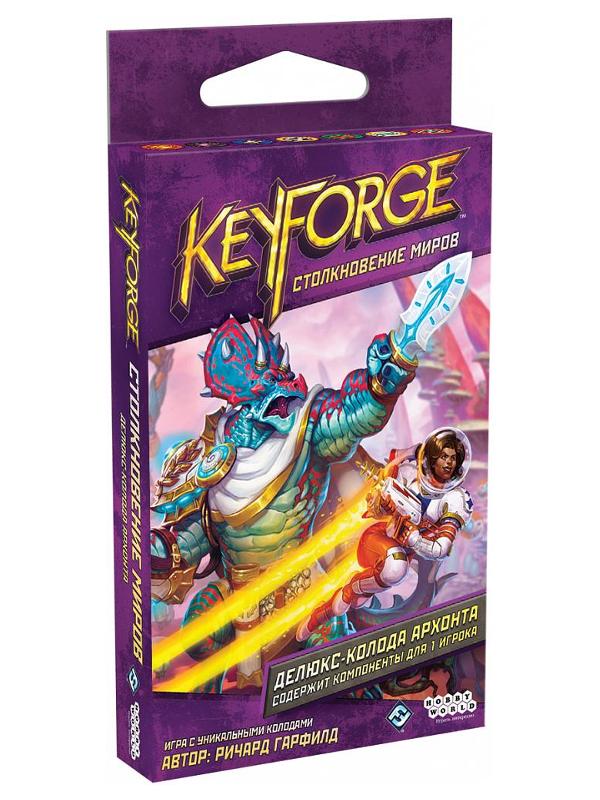 Настольная игра Hobby World KeyForge Столкновение миров Делюкс-колода архонта 915132