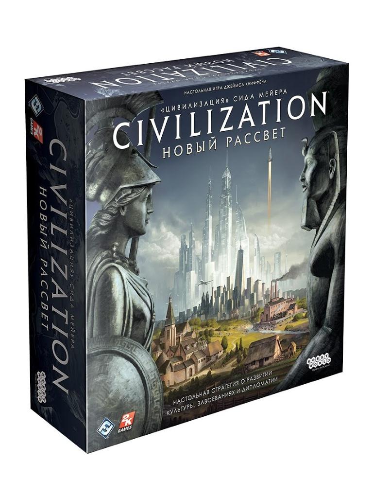 Настольная игра Hobby World Цивилизация Сида Мейера Новый рассвет 181926