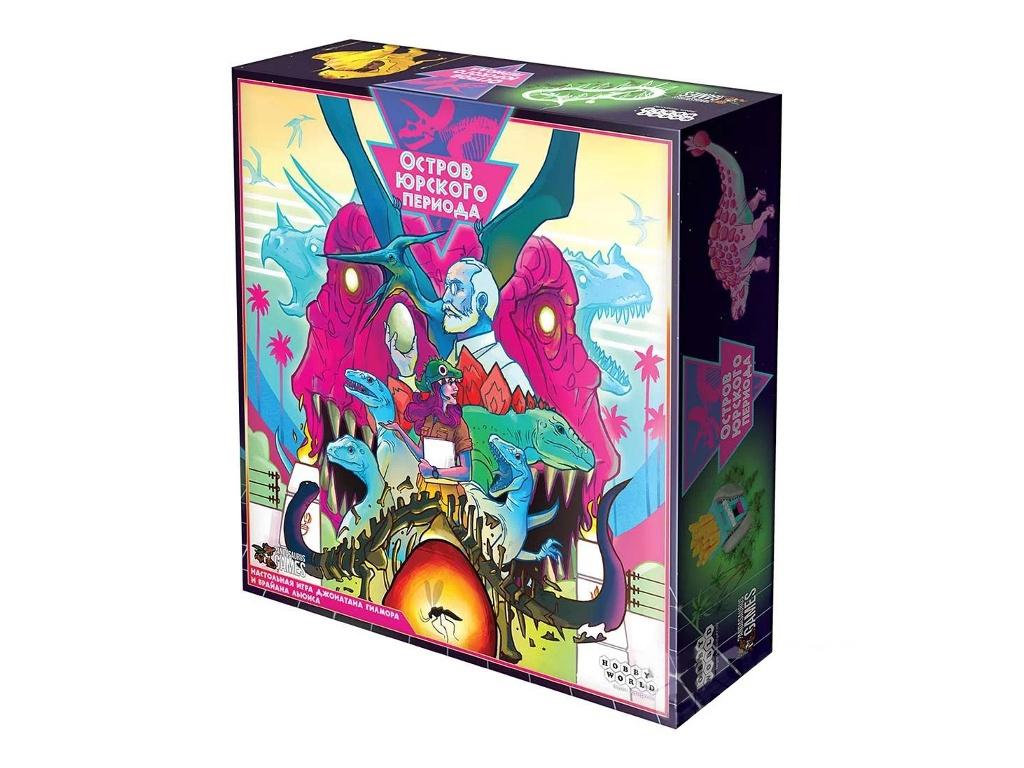 Настольная игра Hobby World Остров юрского периода 915064 цена