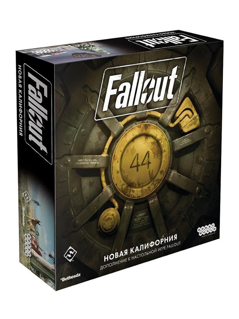 Настольная игра Hobby World Fallout Новая Калифорния 915155