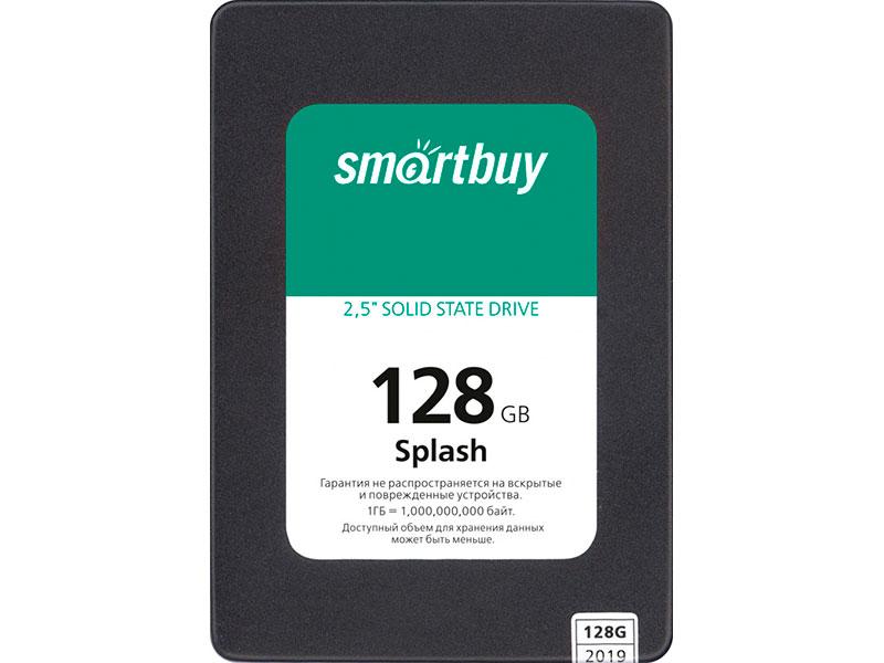 Твердотельный накопитель SmartBuy Splash (2019) 128 GB (SBSSD-128GT-MX902-25S3)