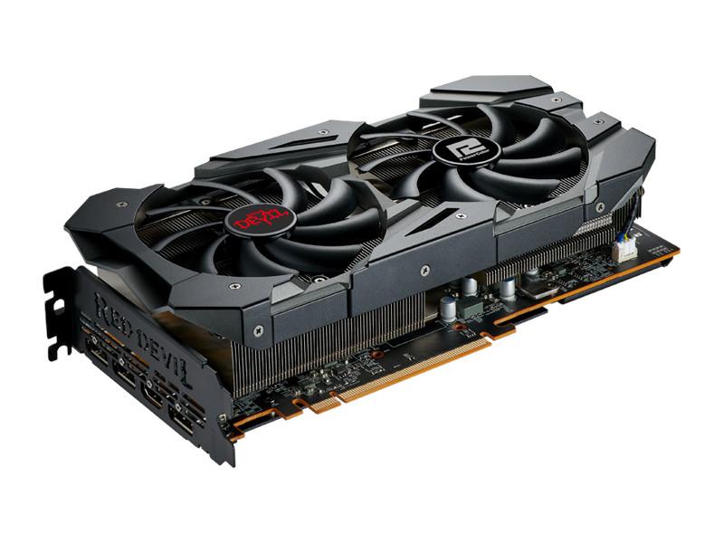Видеокарта PowerColor Radeon RX 5600XT 1660MHz PCI-E 4.0 6144Mb 14000Mhz 192-bit HDMI 3xDP AXRX 6GBD6-3DHE/OC