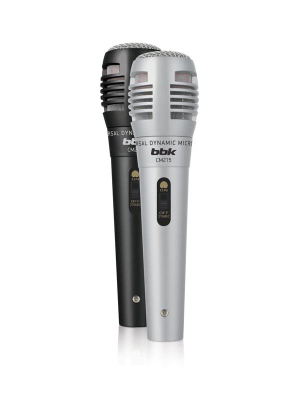цена на Микрофон BBK CM215 Black-Silver