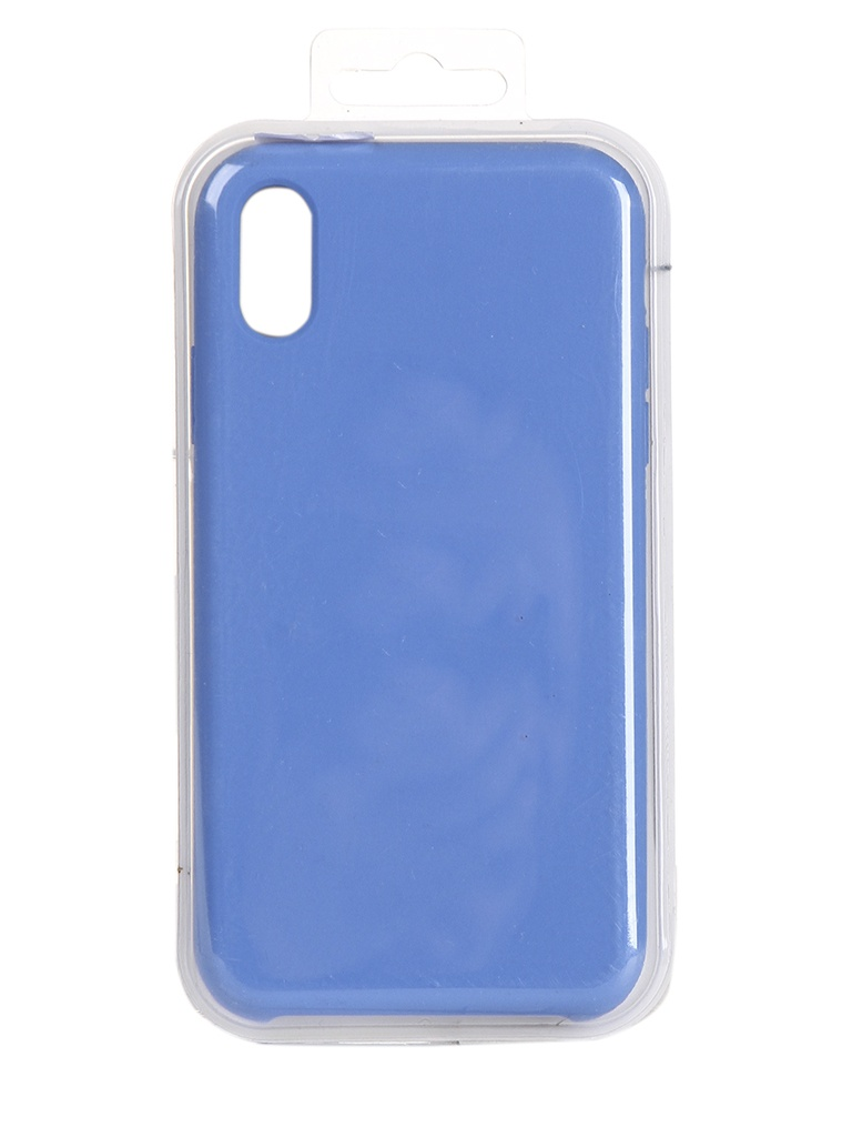 Чехол Krutoff для APPLE iPhone XR Silicone Case Royal Blue 10836