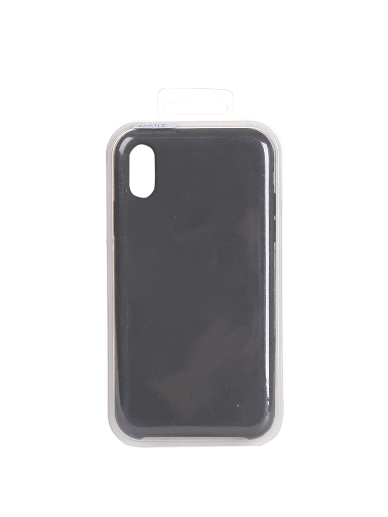 Чехол Krutoff для APPLE iPhone XR Silicone Case Charcoal Grey 10842 романенкова о ред поведение потребителей учебник вузуч романенкова