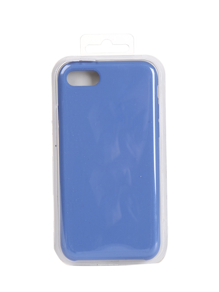 Чехол Krutoff для APPLE iPhone 7 / 8 Silicone Case Royal Blue 10894