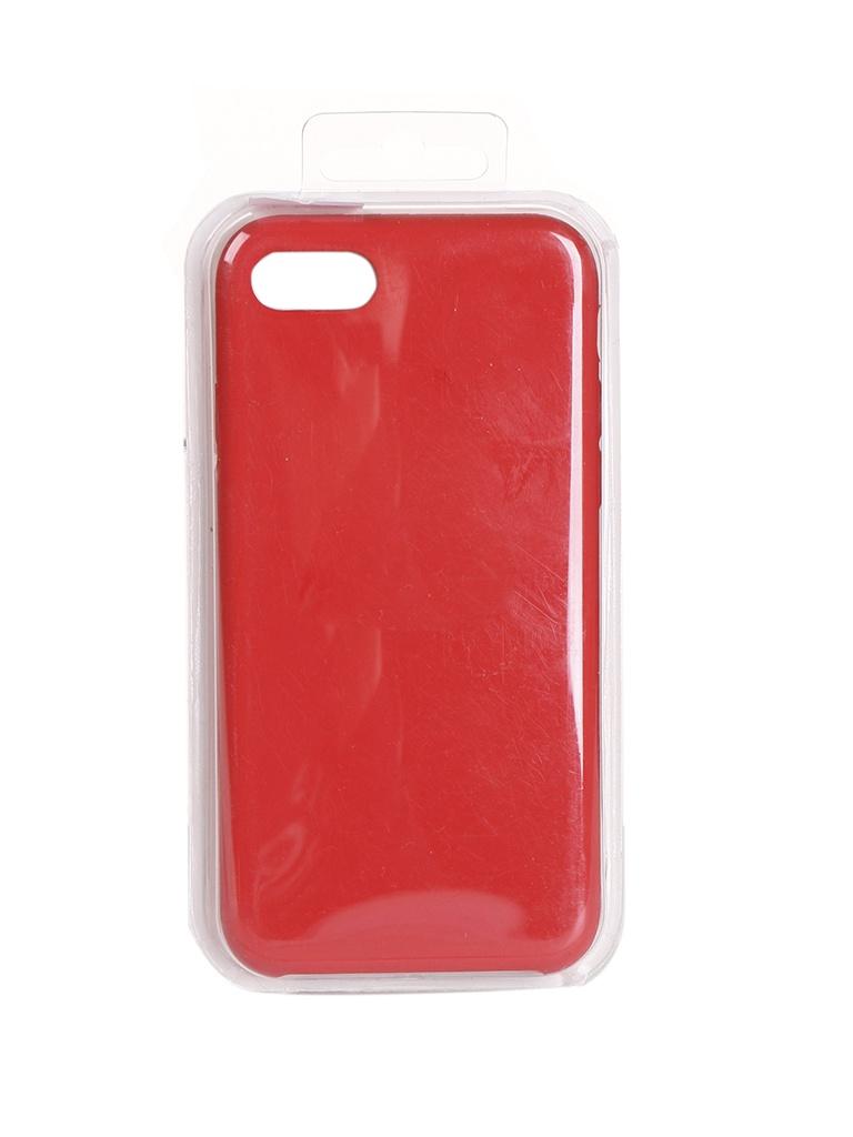 Чехол Krutoff для APPLE iPhone 7 / 8 Silicone Case Red 10747