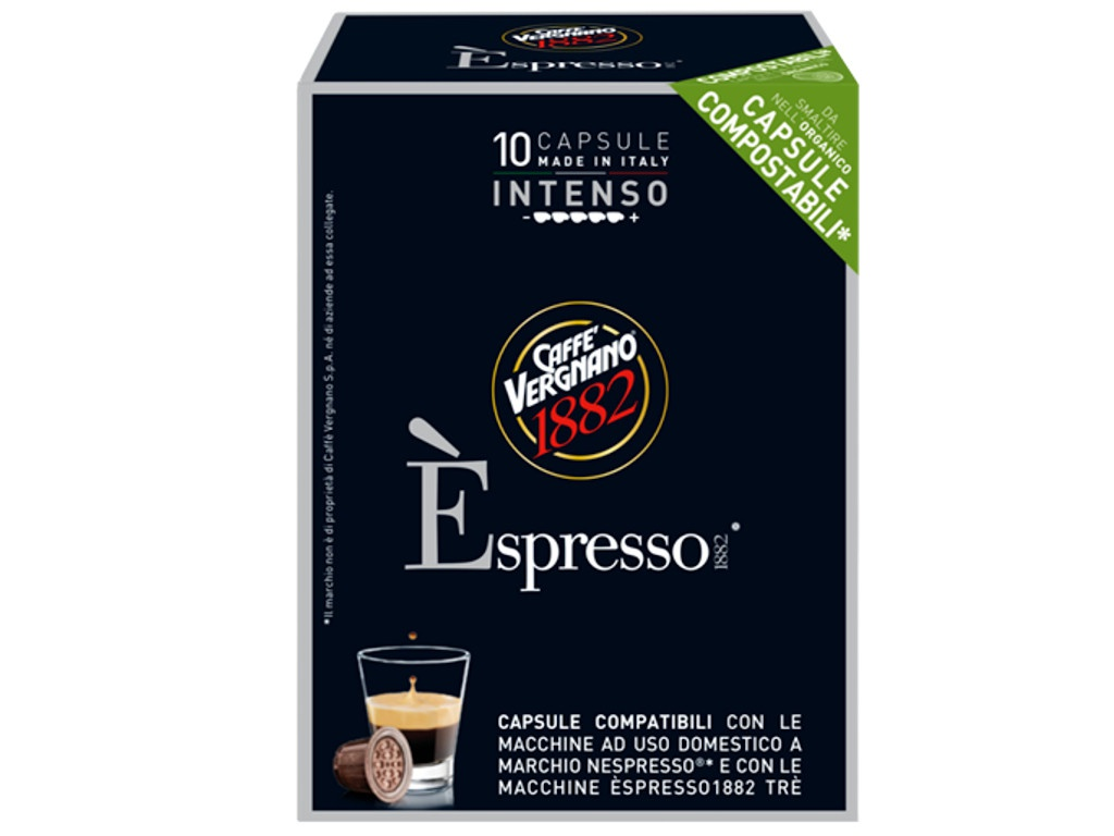 Капсулы Vergnano Nespresso Espresso Intens 10шт