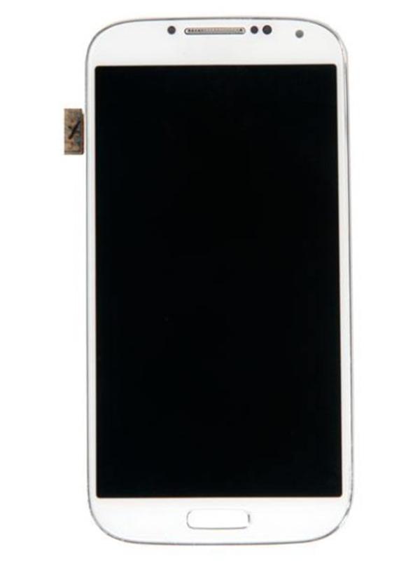 Дисплей RocknParts для Samsung Galaxy S4 GT-I9505 AMOLED в сборе с тачскрином и передней панелью White 357856