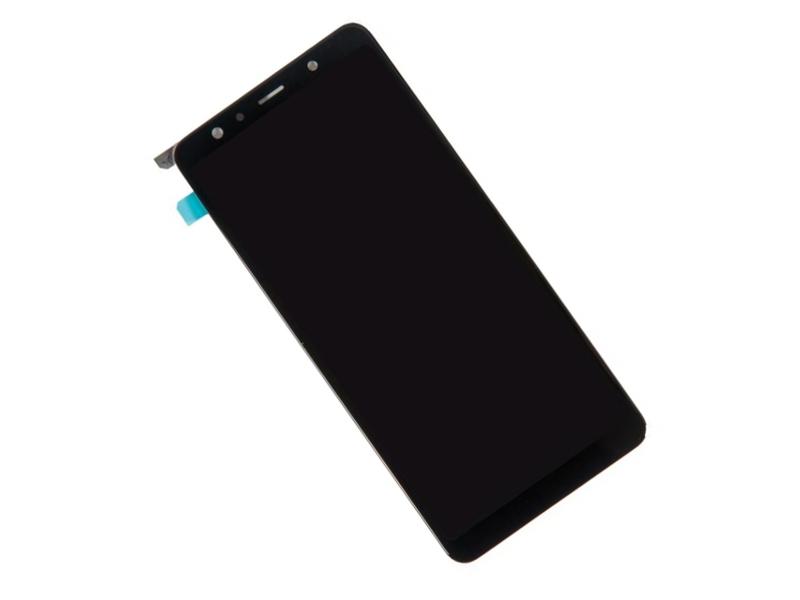 Дисплей RocknParts для Samsung Galaxy A7 SM-A750F 2018 в сборе с тачскрином Original Black 698655