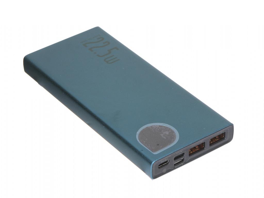 Внешний аккумулятор Baseus Adaman Power Bank 10000mAh Green PPIMDA-B06