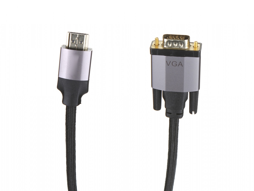 Аксессуар Baseus Enjoyment Series HDMI Male - VGA 2m Dark Grey CAKSX-K0G