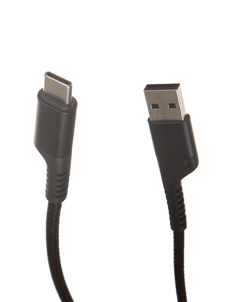 Аксессуар Baseus Fish Eye Spring USB - Type-C 3A 1m Black CATSR-01