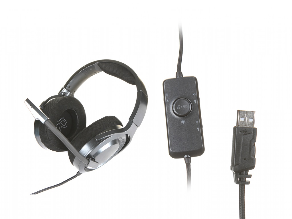 Наушники Baseus Gamo Immersive Virtual 3D Black NGD05-01