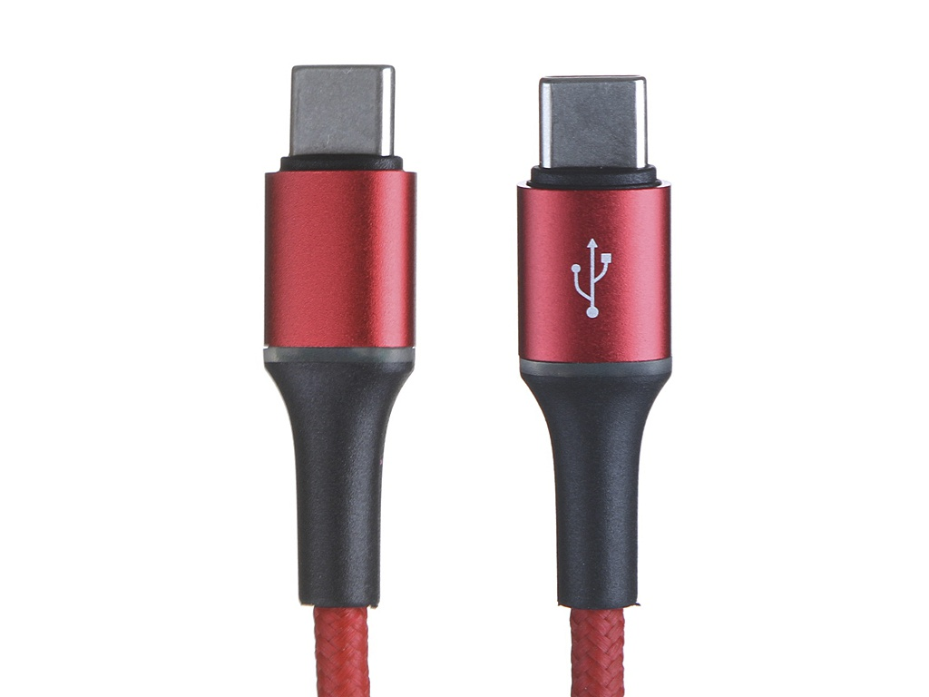 Аксессуар Baseus Halo Type-C - PD2.0 60W 1m Red CATGH-J09