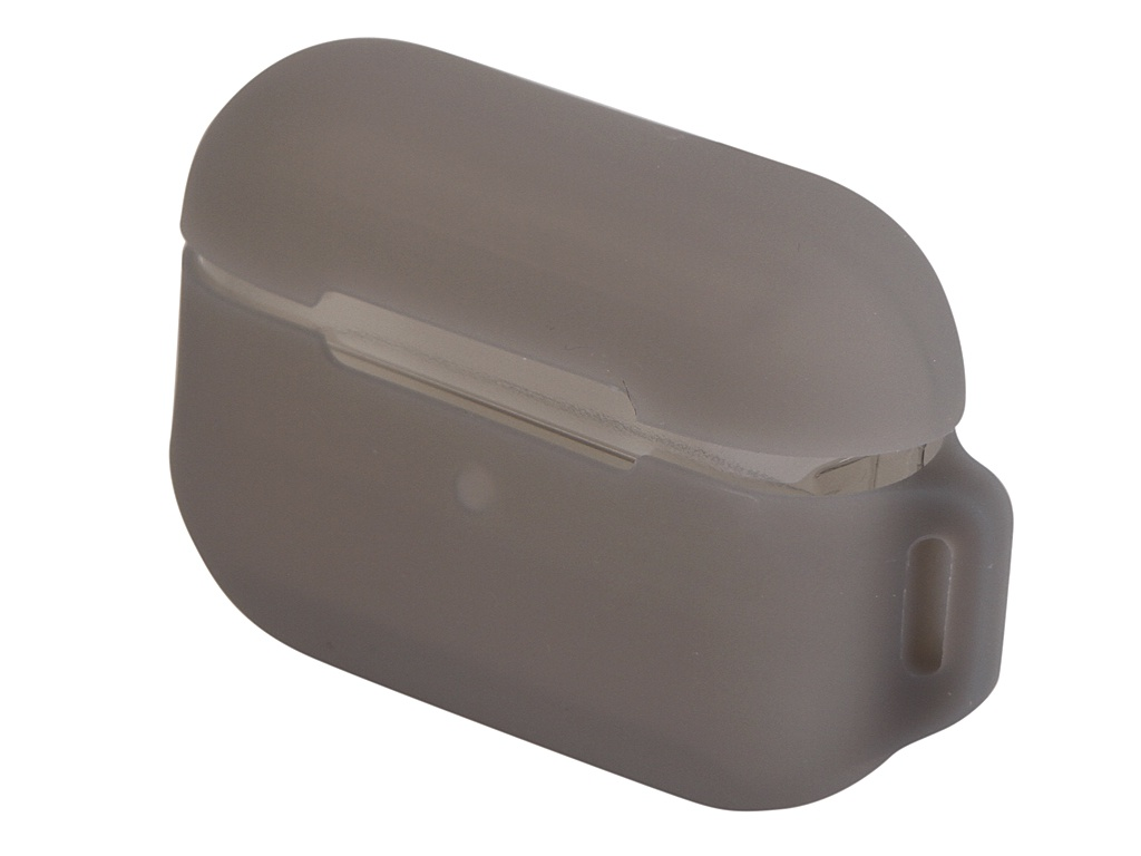 Чехол Baseus для APPLE AirPods Pro Lets go Jelly Lanyard Case Grey WIAPPOD-D0G фото