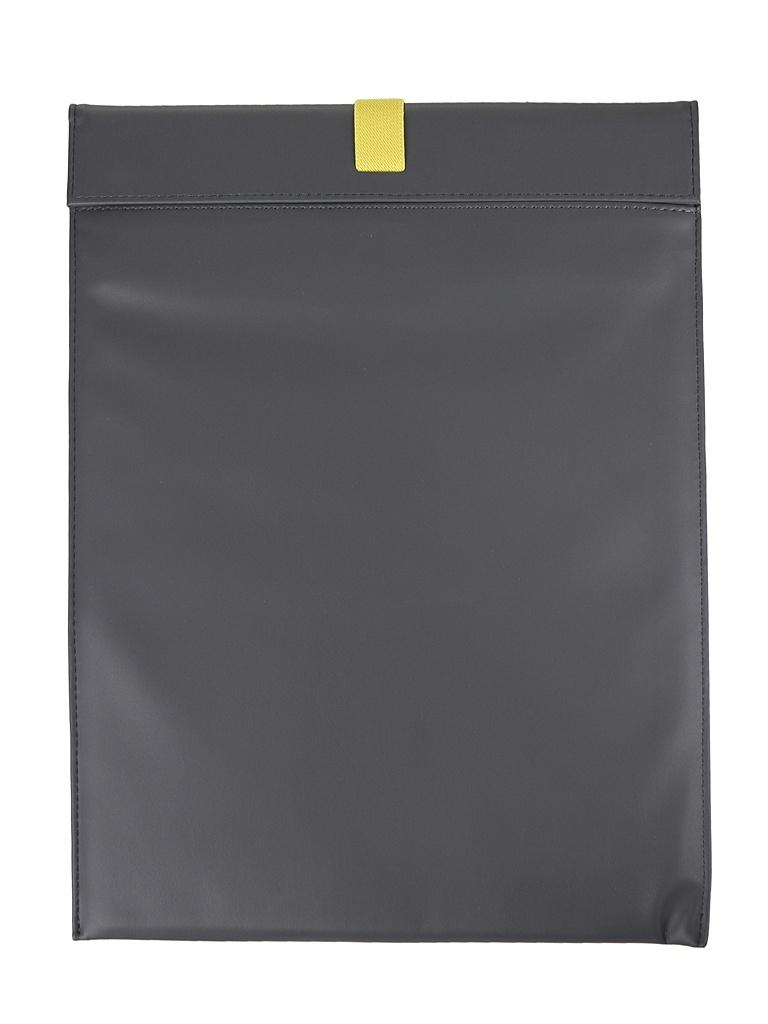 Аксессуар Чехол Baseus для Macbook Air Pro Lets go Traction ComputerLiner Bag Grey-Yellow LBQY-AGY