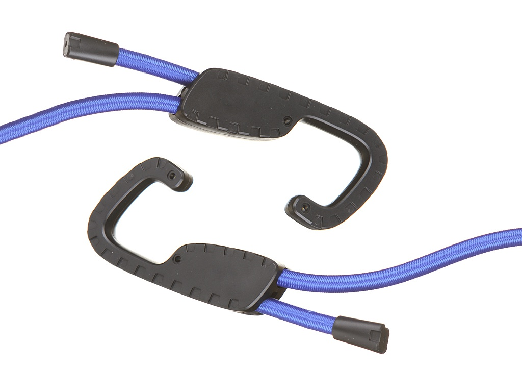 Многоцелевой эластичный шнур с крючками Baseus Multi-Ppurpose Elastik Clothesline Blue ACTLS-03
