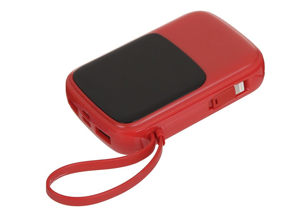 Внешний аккумулятор Baseus Qpow Digital Display 3A Power Bank 10000mAh Red PPQD-B09 внешний аккумулятор baseus qpow digital display 3a power bank 10000mah white ppqd a02