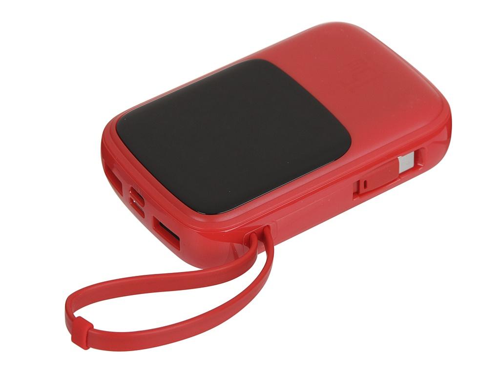 Внешний аккумулятор Baseus Qpow Digital Display 3A Power Bank 10000mAh Red PPQD-A09 внешний аккумулятор baseus qpow digital display 3a power bank 10000mah white ppqd a02