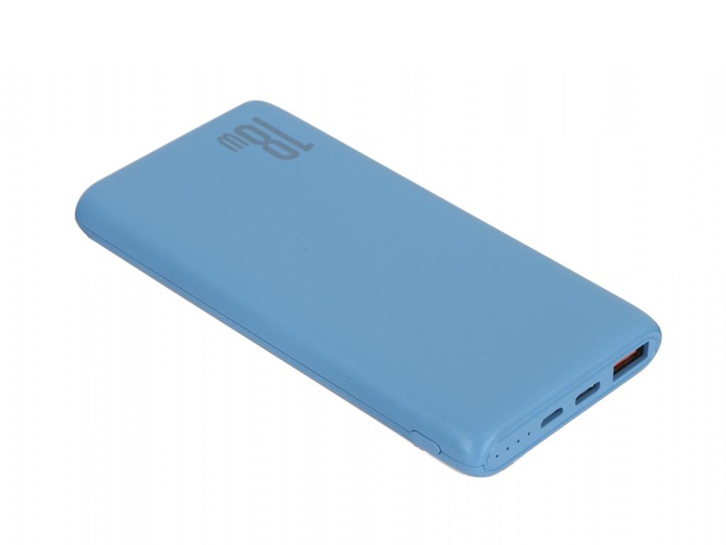 Внешний аккумулятор Baseus Qick Chapge Power Bank 10000mAh PD 3.0 + QC Blue PPDML-03