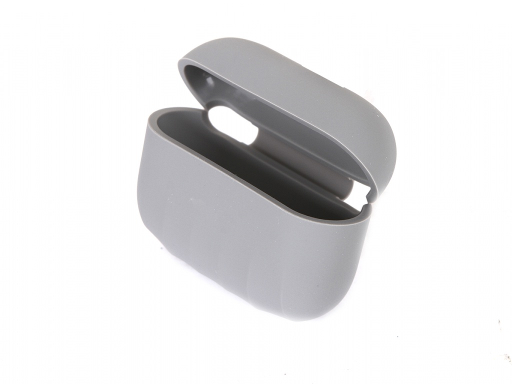 Чехол Baseus для APPLE AirPods Pro Shell Pattern Silica Gel Case Grey WIAPPOD-BK0G