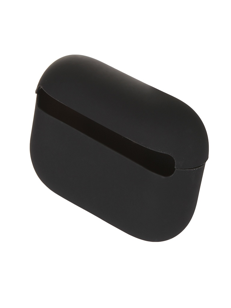 Чехол Baseus для APPLE AirPods Pro Super Thin Silica Gel Case Black WIAPPOD-ABZ01