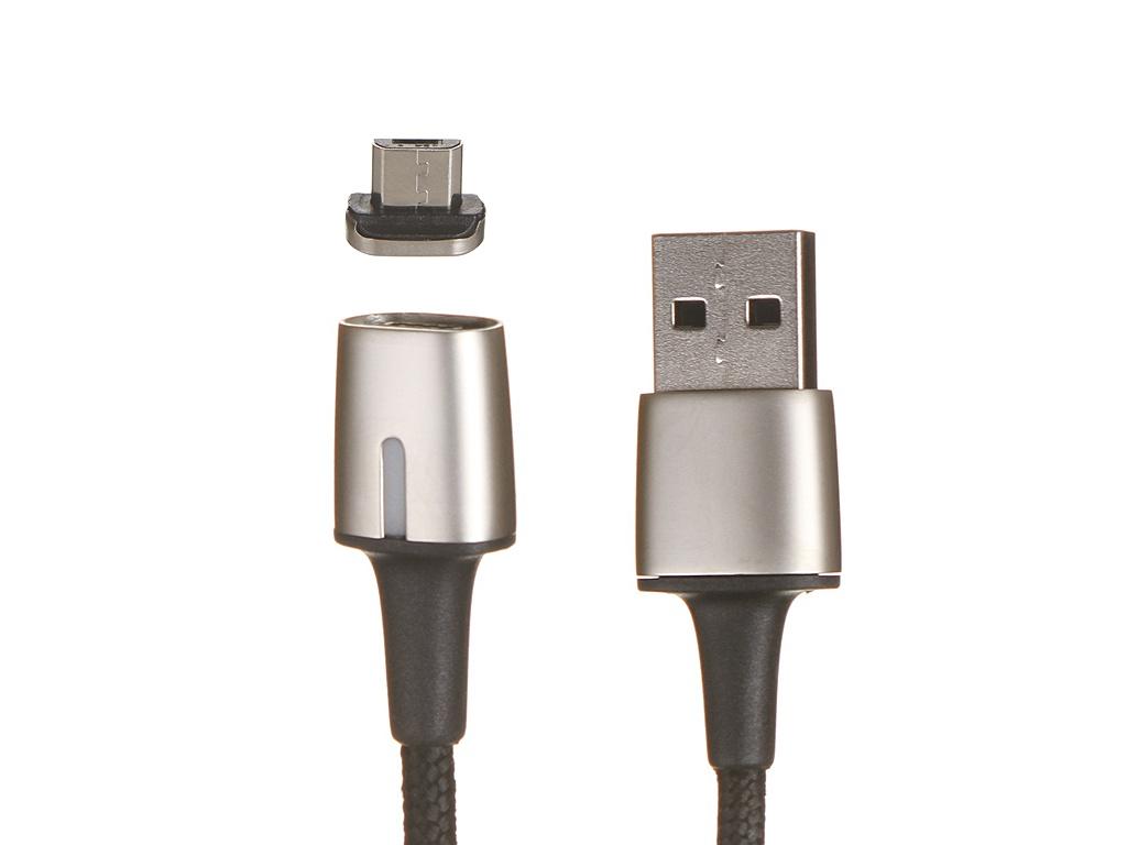 Аксессуар Baseus Zing Magnetic USB - MicroUSB 1.5A 2m Black CAMXC-B01