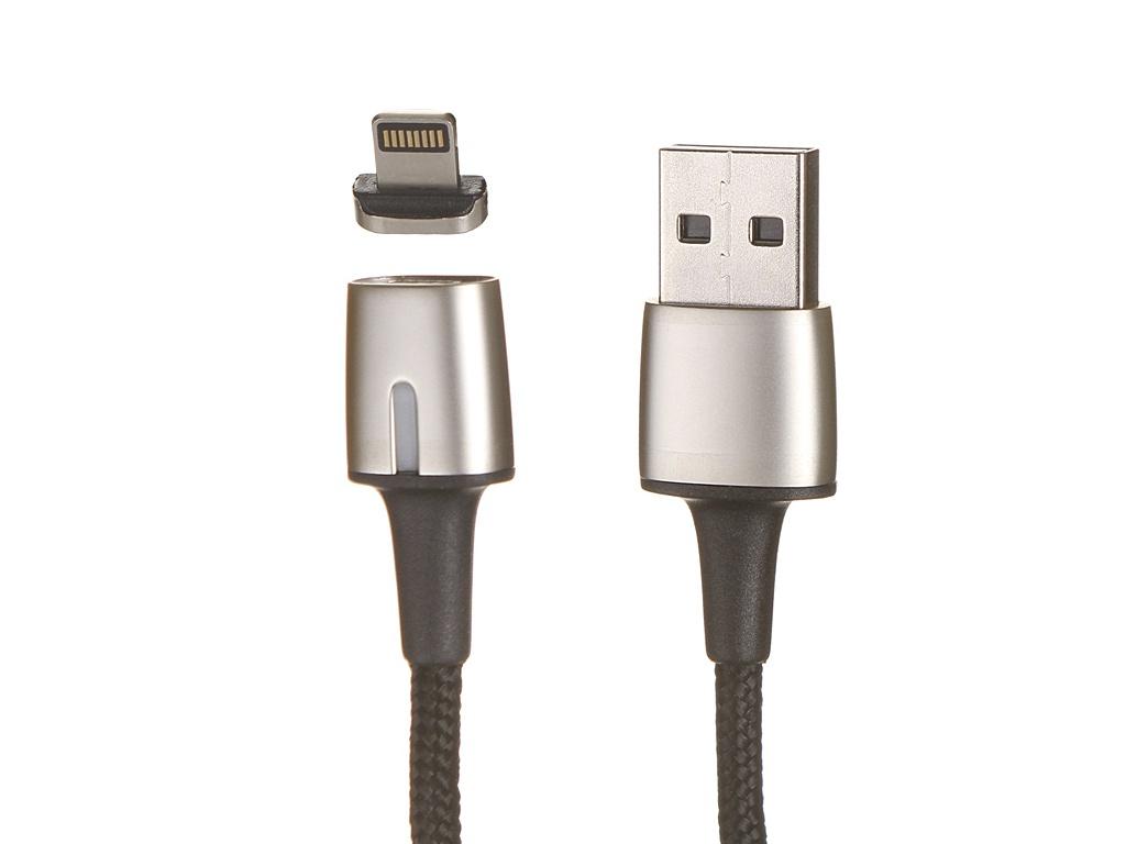 Аксессуар Baseus Zing Magnetic USB - Lightning 2A 1m Black CALXC-A01