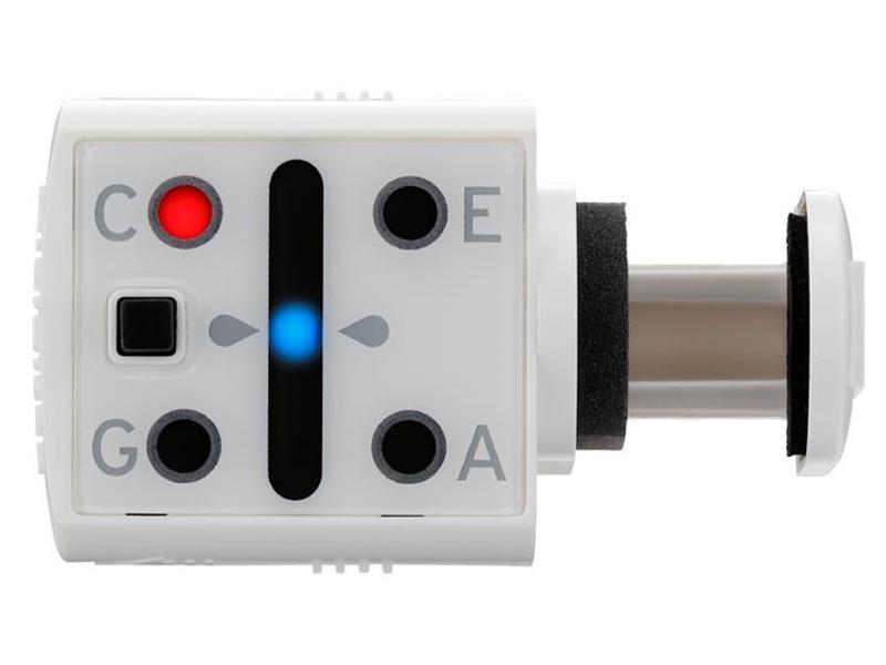Цифровой тюнер-прищепка для укулеле Korg MINIPITCH-WH тюнер korg headtune ht b1