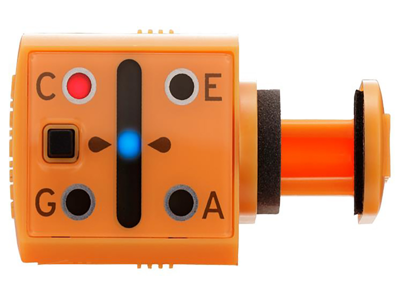 Цифровой тюнер-прищепка для укулеле Korg MINIPITCH-OR тюнер korg headtune ht b1
