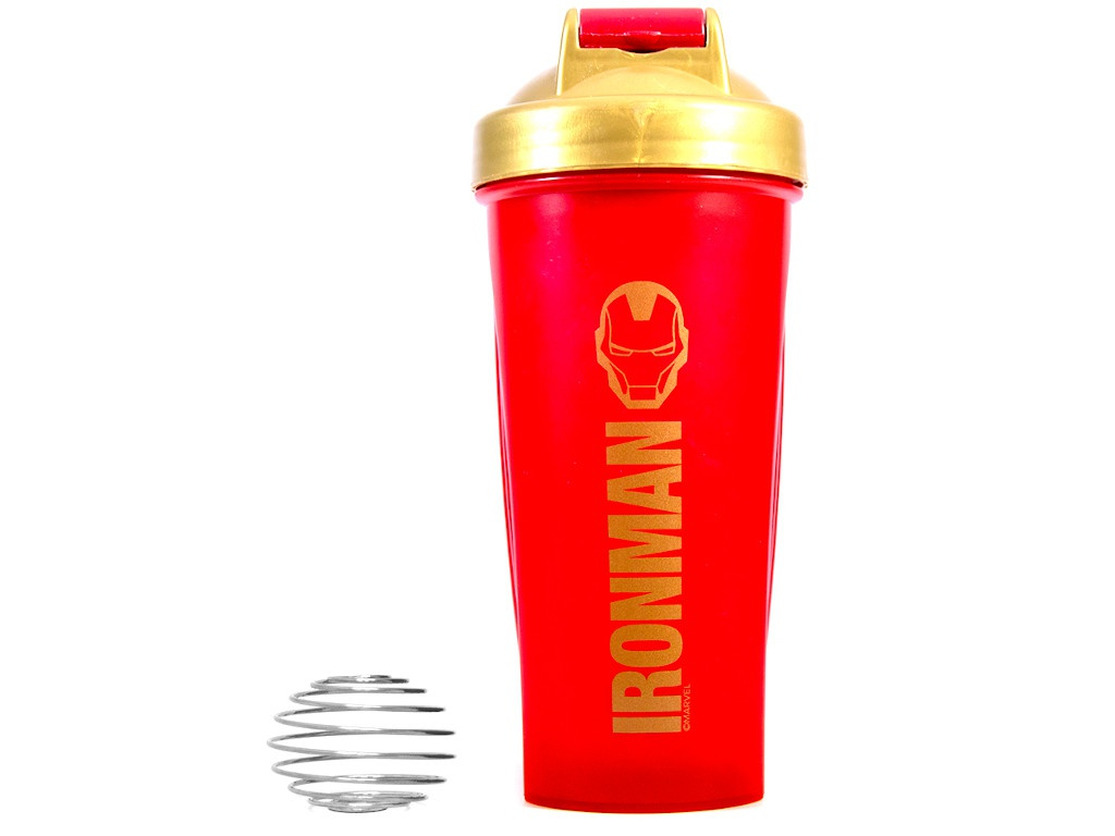 Шейкер Irontrue M901-600IM Iron Man 600ml