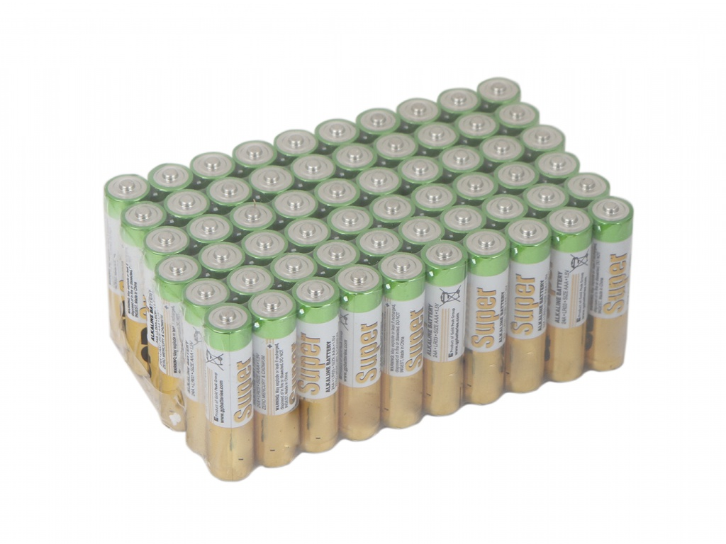 цена на Батарейка AAA - GP Super Alkaline 24A-2CRVS60 (60 штук)